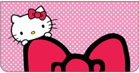 Hello Kitty Leather Cover